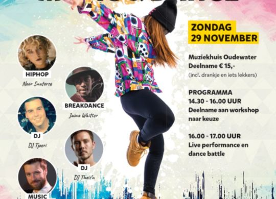 Poster Urban Music and Dance middag_web