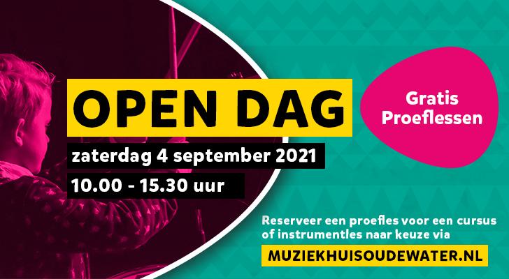 2021 Open Dag Banner